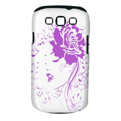 Purple Woman of Chronic Pain Samsung Galaxy S III Classic Hardshell Case (PC+Silicone)