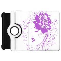 Purple Woman of Chronic Pain Kindle Fire HD 7  (1st Gen) Flip 360 Case