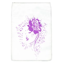 Purple Woman of Chronic Pain Removable Flap Cover (Large)