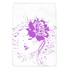 Purple Woman of Chronic Pain Removable Flap Cover (Small)