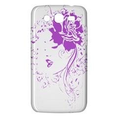 Purple Woman of Chronic Pain Samsung Galaxy Mega 5.8 I9152 Hardshell Case