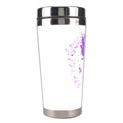 Purple Woman Of Chronic Pain Stainless Steel Travel Tumbler
