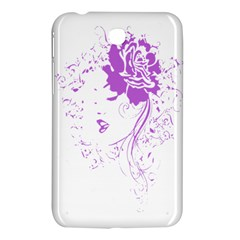 Purple Woman of Chronic Pain Samsung Galaxy Tab 3 (7 ) P3200 Hardshell Case