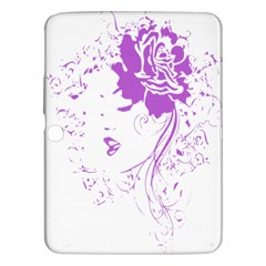Purple Woman Of Chronic Pain Samsung Galaxy Tab 3 (10 1 ) P5200 Hardshell Case