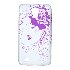 Purple Woman of Chronic Pain Samsung Galaxy S4 Active (I9295) Hardshell Case