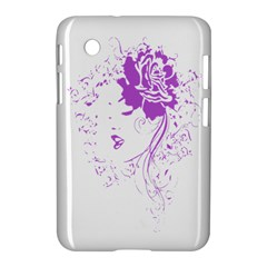 Purple Woman Of Chronic Pain Samsung Galaxy Tab 2 (7 ) P3100 Hardshell Case