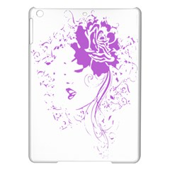 Purple Woman of Chronic Pain Apple iPad Air Hardshell Case