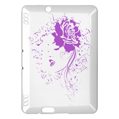 Purple Woman of Chronic Pain Kindle Fire HDX 7  Hardshell Case
