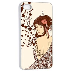 Come to life Apple iPhone 4/4s Seamless Case (White)