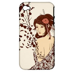 Come to life Apple iPhone 4/4S Hardshell Case (PC+Silicone)