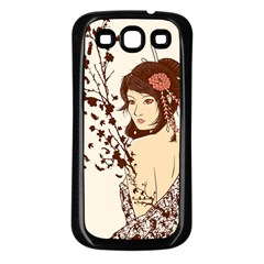 Come to life Samsung Galaxy S3 Back Case (Black)