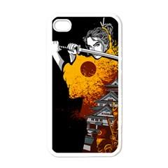 Samurai Rise Apple Iphone 4 Case (white)