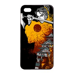 Samurai Rise Apple iPhone 4/4s Seamless Case (Black)