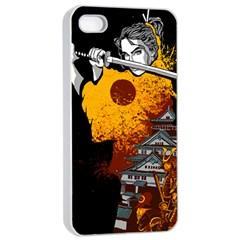 Samurai Rise Apple Iphone 4/4s Seamless Case (white)