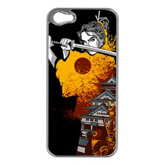 Samurai Rise Apple iPhone 5 Case (Silver)