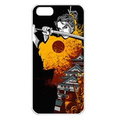 Samurai Rise Apple iPhone 5 Seamless Case (White)