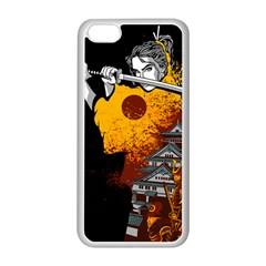 Samurai Rise Apple iPhone 5C Seamless Case (White)