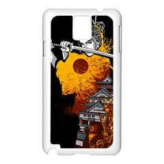 Samurai Rise Samsung Galaxy Note 3 N9005 Case (white)