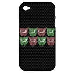 Owligami Apple Iphone 4/4s Hardshell Case (pc+silicone)
