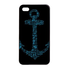 Swimmers Apple iPhone 4/4s Seamless Case (Black)