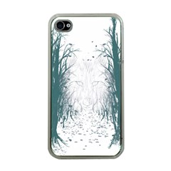 The Woods Beckon  Apple iPhone 4 Case (Clear)