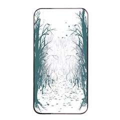 The Woods Beckon  Apple iPhone 4/4s Seamless Case (Black)