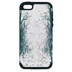 The Woods Beckon  Apple iPhone 5 Hardshell Case (PC+Silicone)