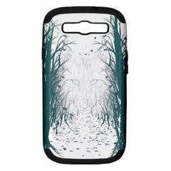 The Woods Beckon  Samsung Galaxy S III Hardshell Case (PC+Silicone)