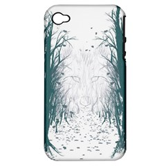 the Woods Beckon  Apple Iphone 4/4s Hardshell Case (pc+silicone)