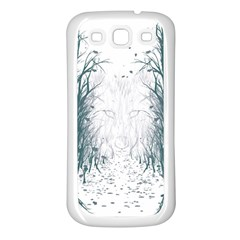 the Woods Beckon  Samsung Galaxy S3 Back Case (white)