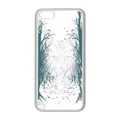 The Woods Beckon  Apple iPhone 5C Seamless Case (White)