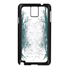 The Woods Beckon  Samsung Galaxy Note 3 N9005 Case (Black)