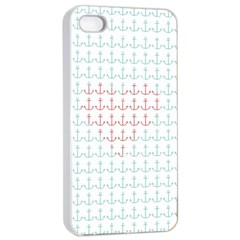 I Belong To The Sea Apple Iphone 4/4s Seamless Case (white)