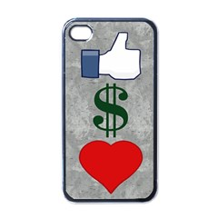 Likes Money Love Apple Iphone 4 Case (black)