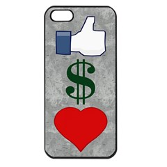 Likes Money Love Apple Iphone 5 Seamless Case (black)