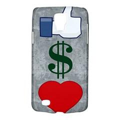 LIKES MONEY LOVE Samsung Galaxy S4 Active (I9295) Hardshell Case