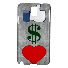 Likes Money Love Samsung Galaxy Note 3 N9005 Hardshell Case