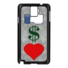 LIKES MONEY LOVE Samsung Galaxy Note 3 N9005 Case (Black)