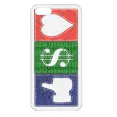 Likes Money Love Apple iPhone 5 Seamless Case (White)