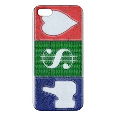 Likes Money Love iPhone 5S Premium Hardshell Case
