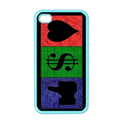 Likes, Money, Love Apple Iphone 4 Case (color)
