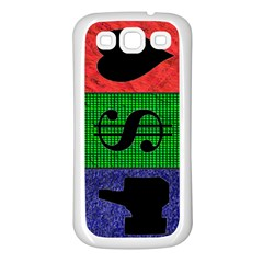 Likes, Money, Love Samsung Galaxy S3 Back Case (White)