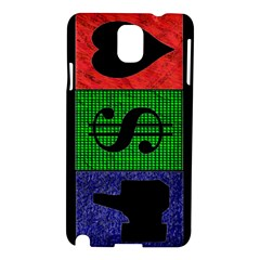 Likes, Money, Love Samsung Galaxy Note 3 N9005 Hardshell Case