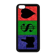 Likes, Money, Love Apple iPhone 5C Seamless Case (Black)