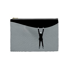 """hang On! Hang On!"" Cosmetic Bag (medium)"