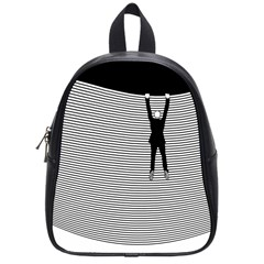 """Hang On! Hang On!"" School Bag (Small)"