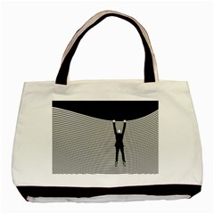 """Hang On! Hang On!"" Classic Tote Bag (Two Sides)"