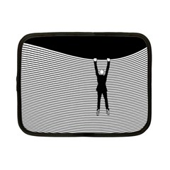 """hang On! Hang On!"" Netbook Case (small)"