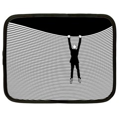 """hang On! Hang On!"" Netbook Case (xxl)"