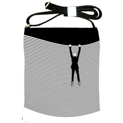 """Hang On! Hang On!"" Shoulder Sling Bag"